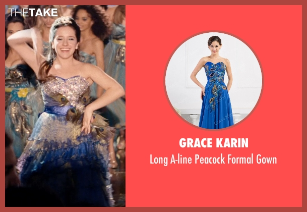 Grace Karin blue gown from Hot Pursuit seen with Kristen M. Mentasti (Precision Driver)