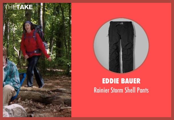 Eddie Bauer black pants from A Walk in the Woods seen with Kristen Schaal (Mary Ellen)