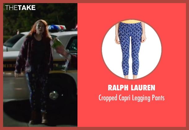 Ralph Lauren blue pants from American Ultra seen with Kristen Stewart (Phoebe)