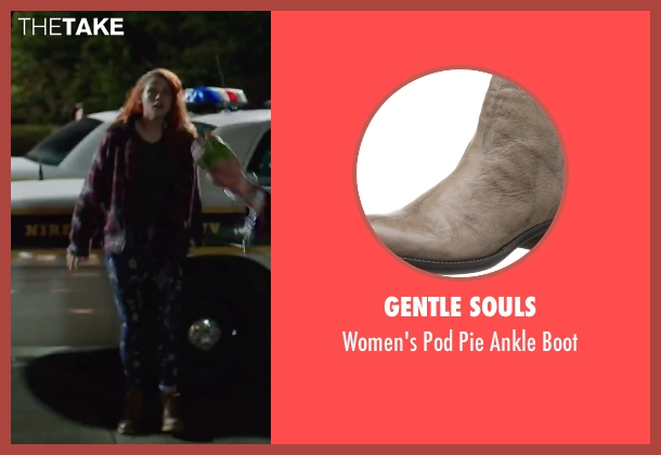 Gentle Souls brown boot from American Ultra seen with Kristen Stewart (Phoebe)