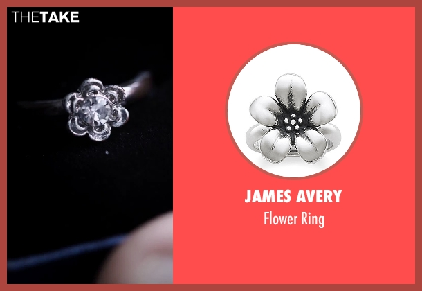 James Avery silver ring from American Ultra seen with Kristen Stewart (Phoebe)