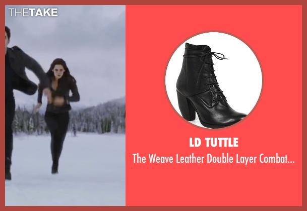 LD Tuttle black boots from The Twilight Saga: Breaking Dawn - Part 2 seen with Kristen Stewart (Bella Swan)