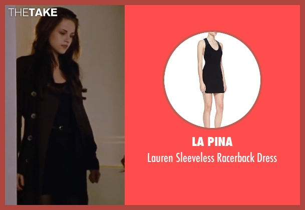 La Pina black dress from The Twilight Saga: Breaking Dawn - Part 2 seen with Kristen Stewart (Bella Swan)