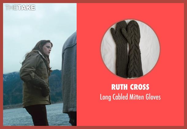 Ruth Cross black gloves from Twilight seen with Kristen Stewart (Bella Swan)