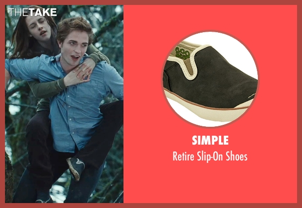 Simple black shoes from Twilight seen with Kristen Stewart (Bella Swan)