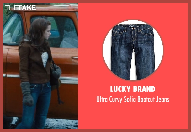 Lucky Brand blue jeans from Twilight seen with Kristen Stewart (Bella Swan)