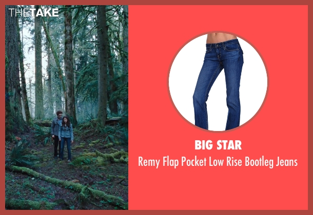 Big Star blue jeans from Twilight seen with Kristen Stewart (Bella Swan)