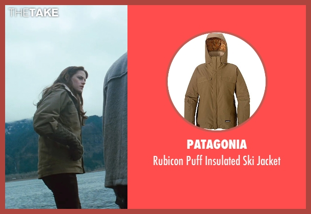 Patagonia brown jacket from Twilight seen with Kristen Stewart (Bella Swan)