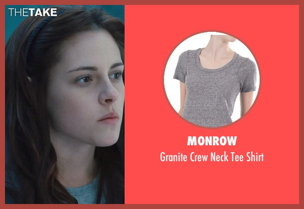 Monrow gray shirt from Twilight seen with Kristen Stewart (Bella Swan)