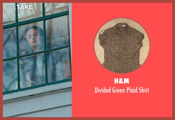 H&M green shirt from Twilight seen with Kristen Stewart (Bella Swan)