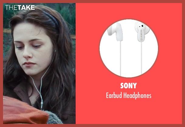 Sony headphones from Twilight seen with Kristen Stewart (Bella Swan)