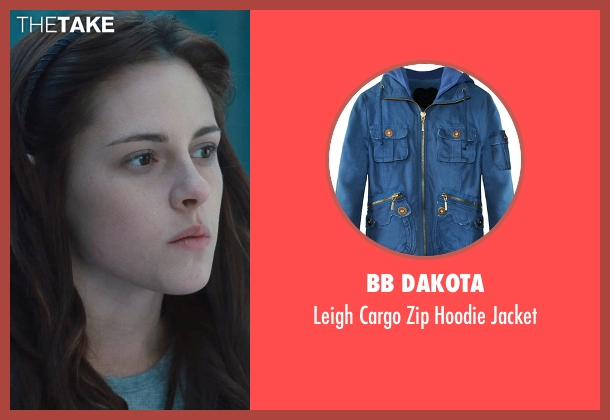 BB Dakota jacket from Twilight seen with Kristen Stewart (Bella Swan)