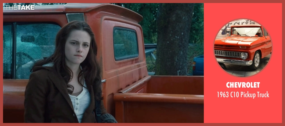 Chevrolet truck from Twilight seen with Kristen Stewart (Bella Swan)