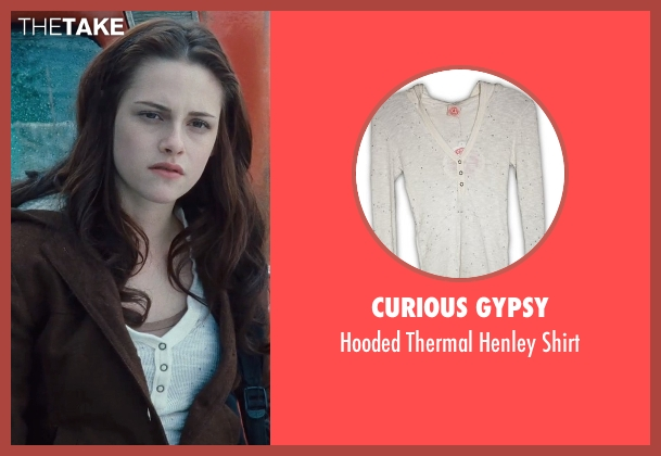 Curious Gypsy white shirt from Twilight seen with Kristen Stewart (Bella Swan)