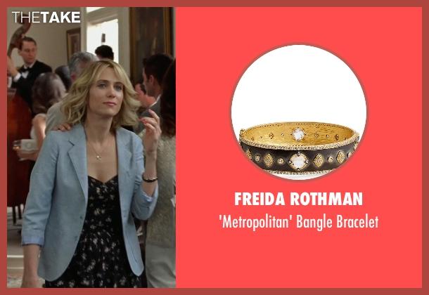 Freida Rothman black bracelet from Bridesmaids seen with Kristen Wiig (Annie Walker)