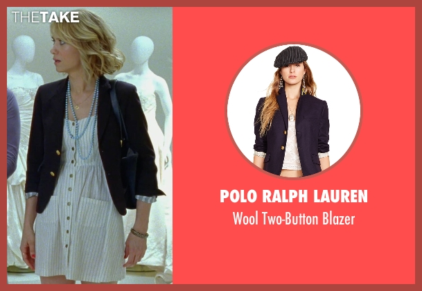Polo Ralph Lauren blue blazer from Bridesmaids seen with Kristen Wiig (Annie Walker)