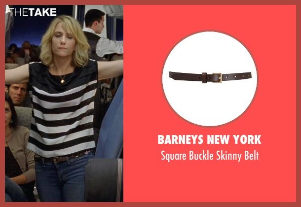 Barneys New York brown belt from Bridesmaids seen with Kristen Wiig (Annie Walker)