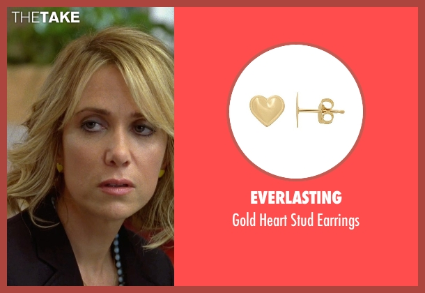 Everlasting gold earrings from Bridesmaids seen with Kristen Wiig (Annie Walker)
