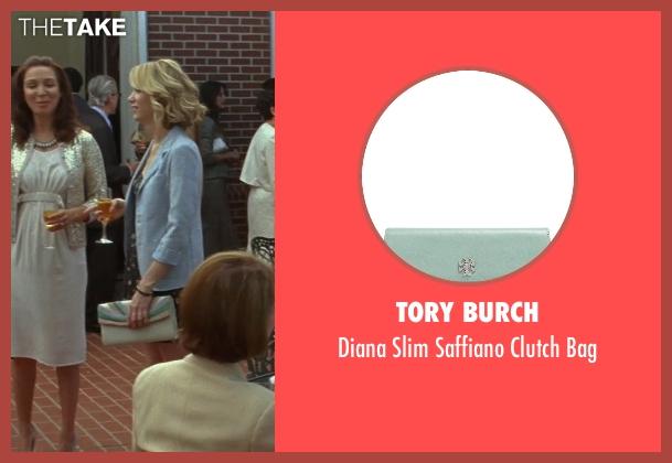 Tory Burch green bag from Bridesmaids seen with Kristen Wiig (Annie Walker)