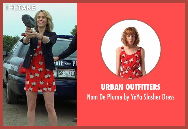 Urban Outfitters red dress from Bridesmaids seen with Kristen Wiig (Annie Walker)