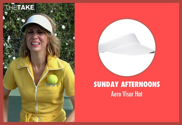 Sunday Afternoons white hat from Bridesmaids seen with Kristen Wiig (Annie Walker)