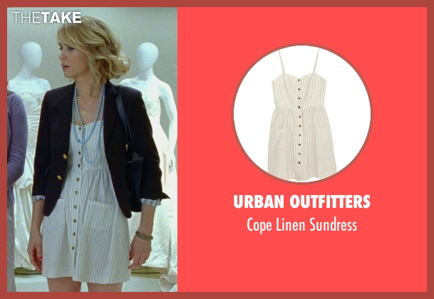 Urban Outfitters white sundress from Bridesmaids seen with Kristen Wiig (Annie Walker)