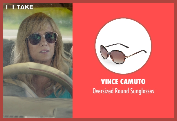 Vince Camuto beige sunglasses from Masterminds seen with Kristen Wiig (Kelly)
