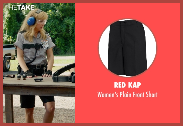 Red Kap black short from Masterminds seen with Kristen Wiig (Kelly)