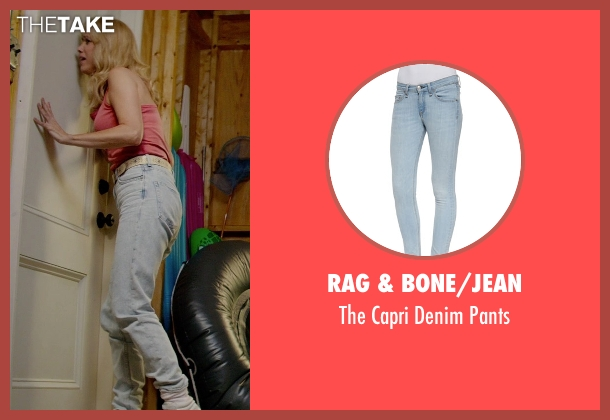 Rag & Bone/JEAN blue pants from Masterminds seen with Kristen Wiig (Kelly)