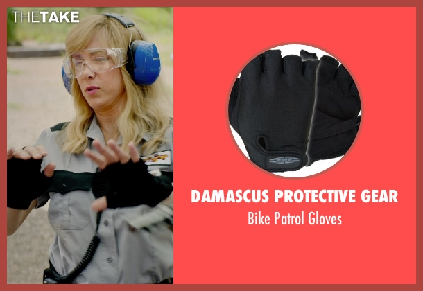 Damascus Protective Gear gloves from Masterminds seen with Kristen Wiig (Kelly)
