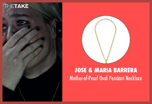 Jose & Maria Barrera gold necklace from The Martian seen with Kristen Wiig (Annie Montrose)