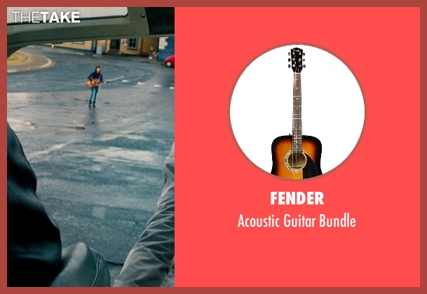 Fender bundle from The Secret Life of Walter Mitty seen with Kristen Wiig (Cheryl Melhoff)