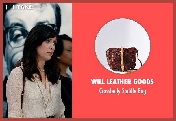 Will Leather Goods red bag from The Secret Life of Walter Mitty seen with Kristen Wiig (Cheryl Melhoff)