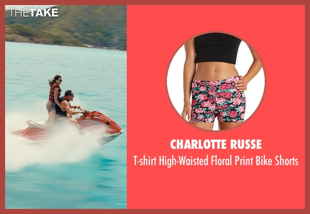 Charlotte Russe black shorts from Couple's Retreat seen with Kristin Davis (Lucy)