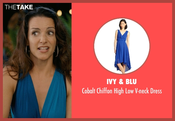 Ivy & Blu blue dress from Couple's Retreat seen with Kristin Davis (Lucy)