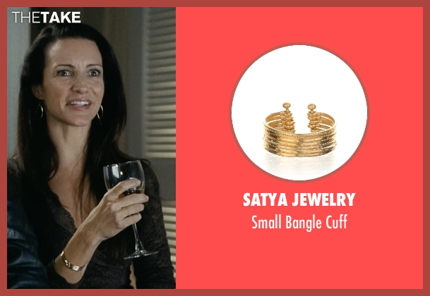 Satya Jewelry cuff from Couple's Retreat seen with Kristin Davis (Lucy)