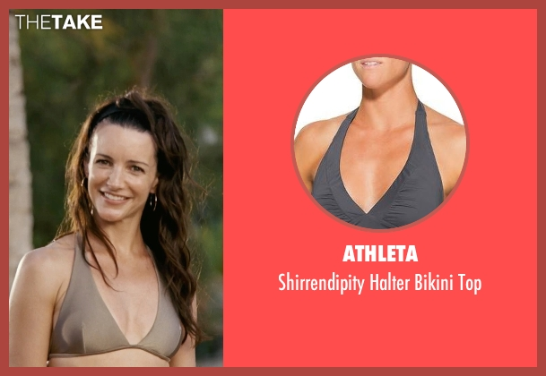 Athleta gray top from Couple's Retreat seen with Kristin Davis (Lucy)