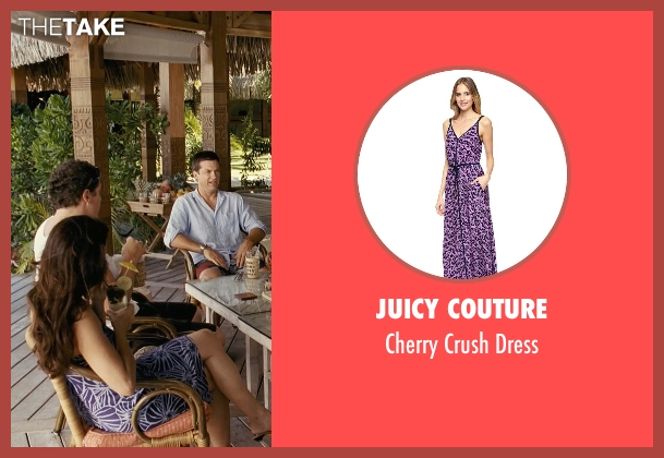 Juicy Couture purple dress from Couple's Retreat seen with Kristin Davis (Lucy)