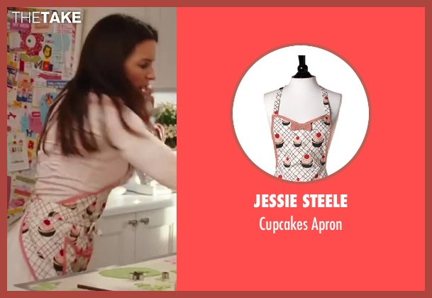Jessie Steele apron from Sex and the City 2 seen with Kristin Davis (Charlotte York)