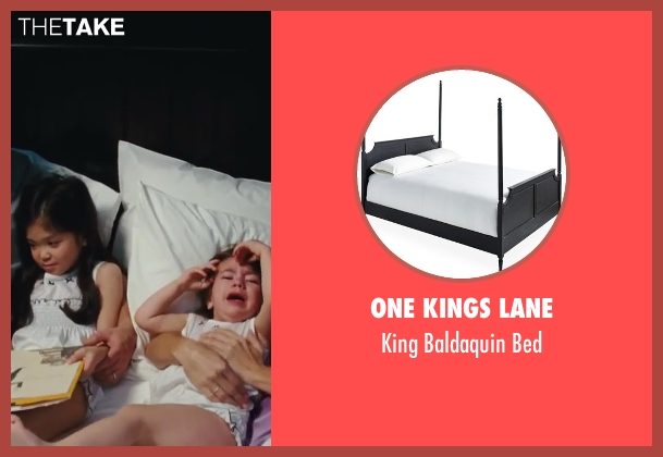 One Kings Lane bed from Sex and the City 2 seen with Kristin Davis (Charlotte York)