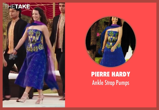 Pierre Hardy gold pumps from Sex and the City 2 seen with Kristin Davis (Charlotte York)
