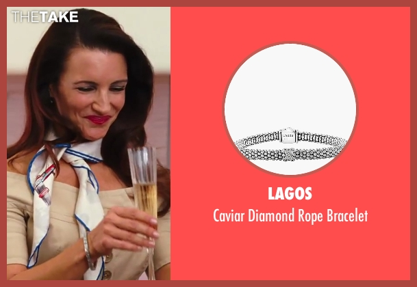 Lagos silver bracelet from Sex and the City 2 seen with Kristin Davis (Charlotte York)
