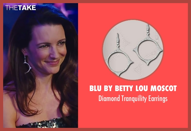 Blu by Betty Lou Moscot silver earrings from Sex and the City 2 seen with Kristin Davis (Charlotte York)