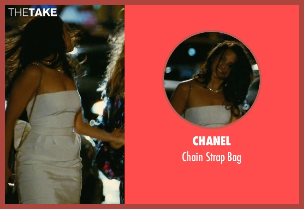 Chanel black bag from Sex and the City seen with Kristin Davis (Charlotte York)