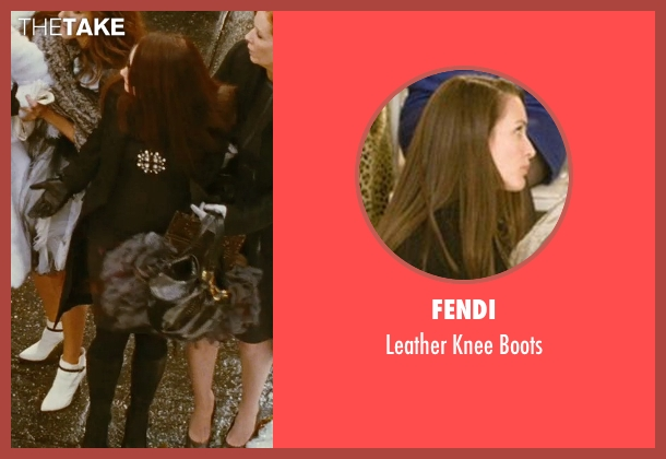 Fendi black boots from Sex and the City seen with Kristin Davis (Charlotte York)