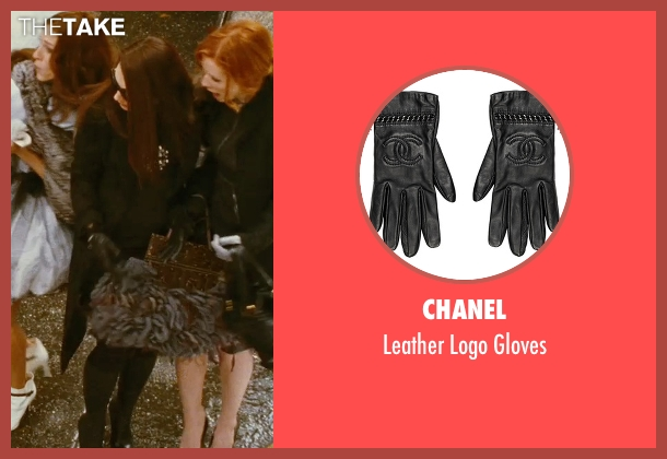 Chanel black gloves from Sex and the City seen with Kristin Davis (Charlotte York)