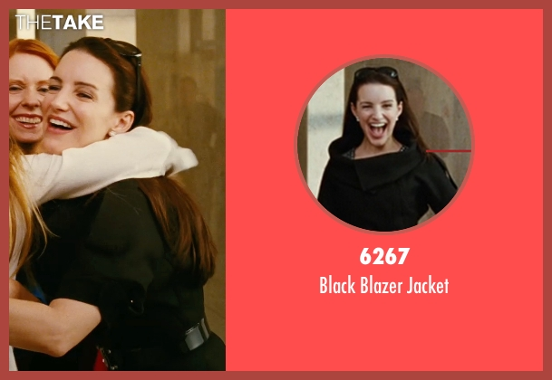 6267 black jacket from Sex and the City seen with Kristin Davis (Charlotte York)