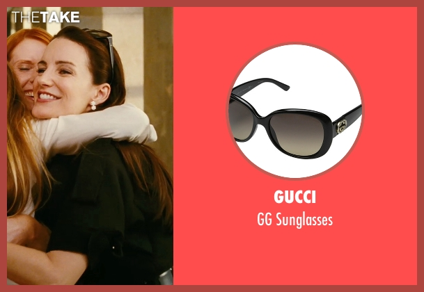 Gucci black sunglasses from Sex and the City seen with Kristin Davis (Charlotte York)