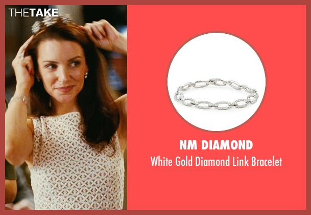 NM Diamond white bracelet from Sex and the City seen with Kristin Davis (Charlotte York)