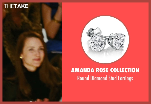 Amanda Rose Collection white earrings from Sex and the City seen with Kristin Davis (Charlotte York)